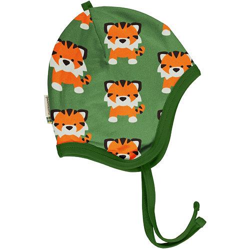Maxomorra Tangerine Tiger Helmet Hat