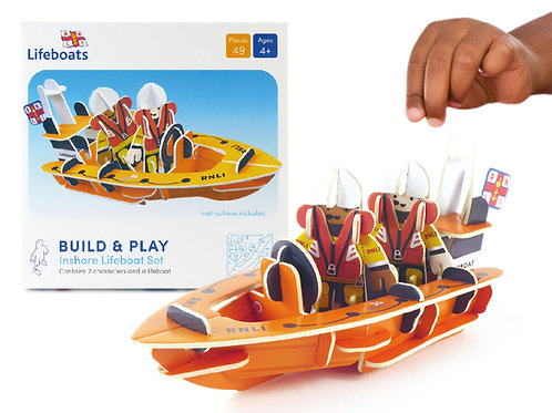 Play Press RNLI Lifeboat Eco Friendly Playset