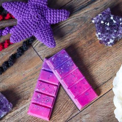 PinkLime Wax Co Hand Made Soy Wax Melt Snap Bar Blackberry Jam