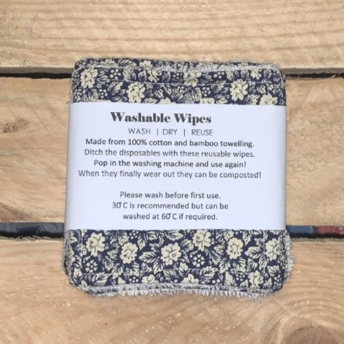 Reusable Makeup wipes pack of 5
