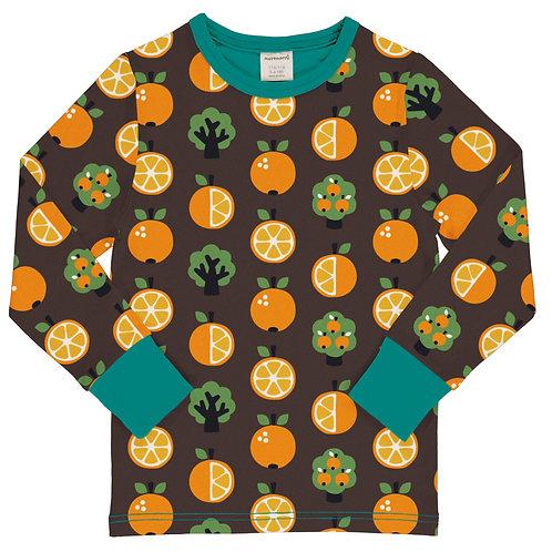 Maxomorra Orange Long Sleeved Top