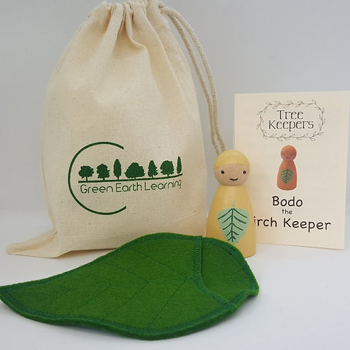 Green Earth Learning Bodo the BirchTree Keeper