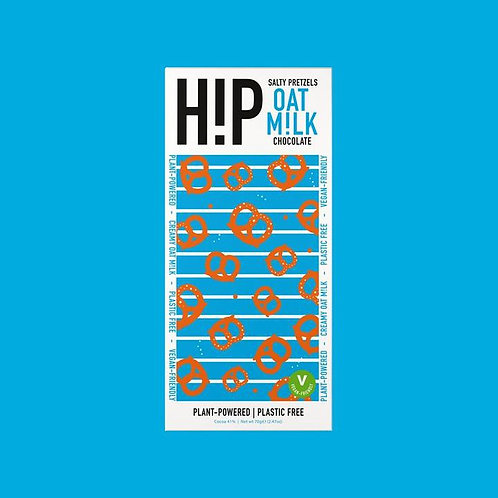 H!p Happiness in Plants Salty Pretzels Chocolate Bar
