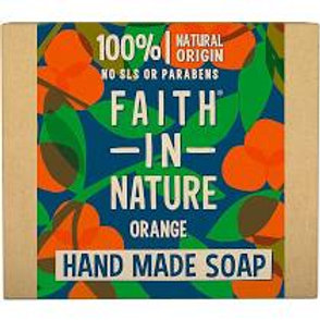 Faith In Nature Wrapped Soap - Orange - 100g