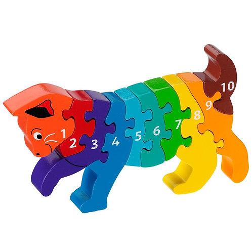 Lanka Kade Colourful Cat 1-10 Jigsaw