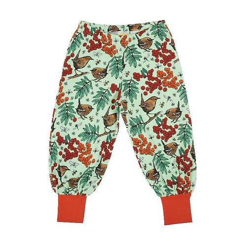 Duns Rowanberry Green Baggy Pants