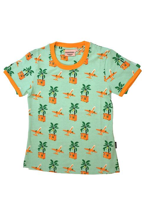 Moromini Short Sleeved T-shirt Bon Voyage