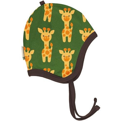 Maxomorra Giraffe velour Helmet Hat