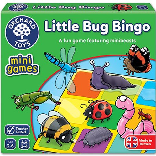 Little Bug Bingo Mini Game Orchard toys