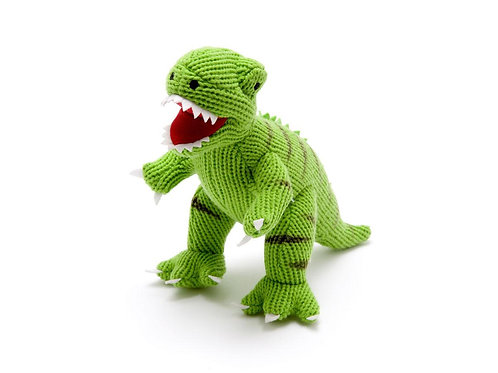 Best Years Knitted T Rex Dinosaur
