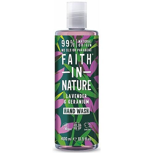 Faith In Nature Lavender and Geranium Hand Wash 400ml