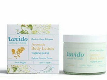 Lavido Nature Mandarin, Orange & Bergamot Aromatic Body Lotion Hydrate 250ml
