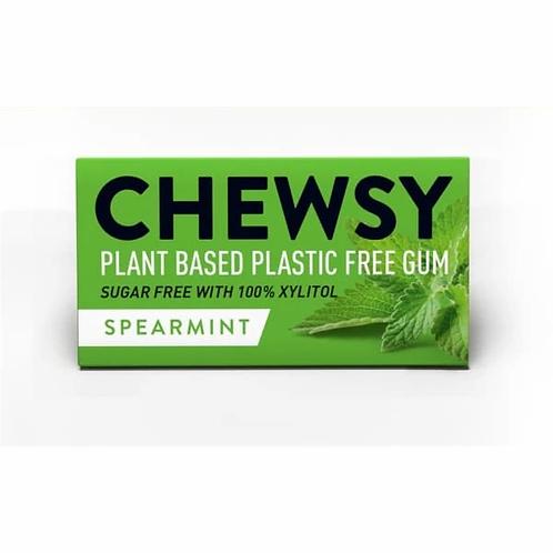 Chewsy Plastic Free Chewing Gum Spearmint
