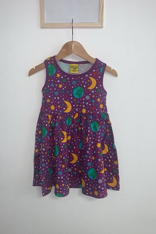 Duns Mother Earth Violet Sleeveless Gather Dress