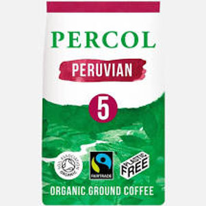 Fairtrade Peruvian Plastic Free Ground Coffee 200g