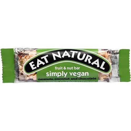Eat Natural - Simply Vegan Fruit & Nut Bar (45g)