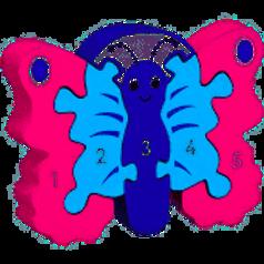 Lanka Kade Colourful Butterfly 1-5 Jigsaw