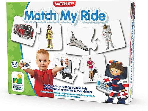 Match It Match my Ride The Learning Jouney