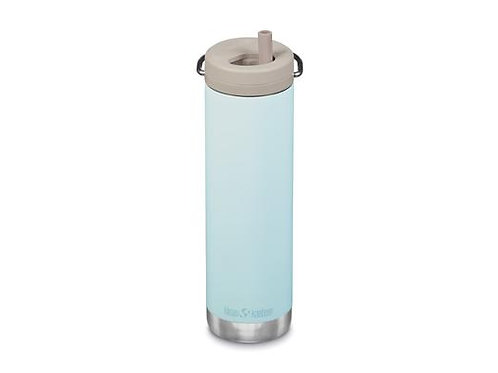 Klean Kanteen Insulated TKWide with Twist Cap 592ml - Blue Tint