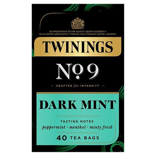 Twinings No.9 Dark Mint 40 Tea Bags 80g