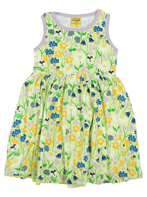 Duns Mid Summer Green Sleeveless Gather Dress