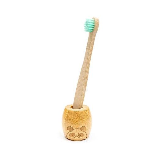 Bamboo Toothbrush Stand - Child