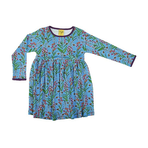 Duns Willowherb LS Twirl/gather dress