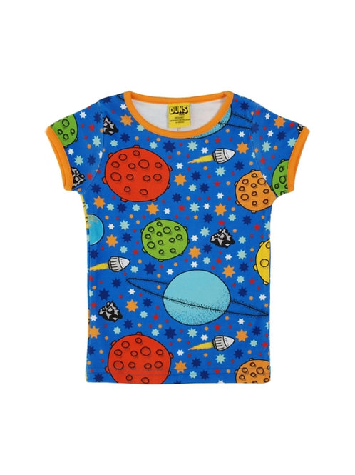 Duns Lost In Space Blue Short Sleeve t-shirt