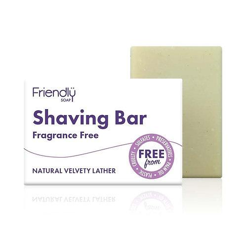 Friendly Fragrance Free shaving bar 95g