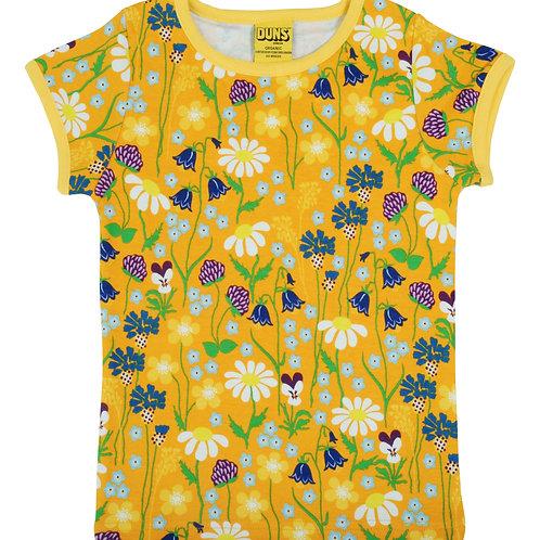 Duns Mid Summer Yellow short Sleeved top