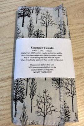 Unpaper Towels, washable paper towel trees
