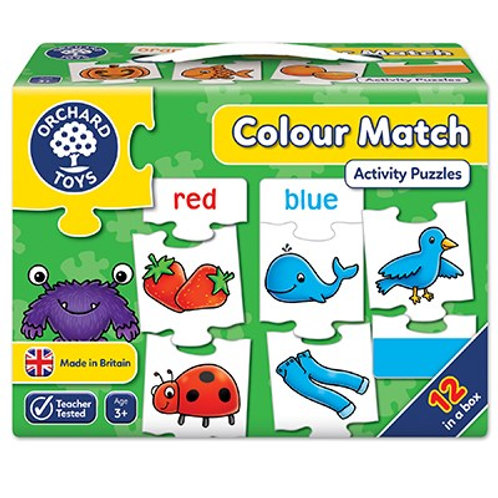 Colour Match Jigsaw Puzzle Orchard Toys