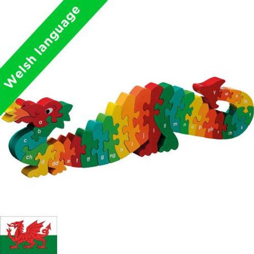 Lanka Kade WELSH Dazzle the Dragon a-y jigsaw