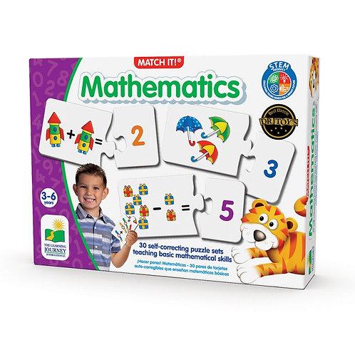 Match It Mathematics The Learning Jouney