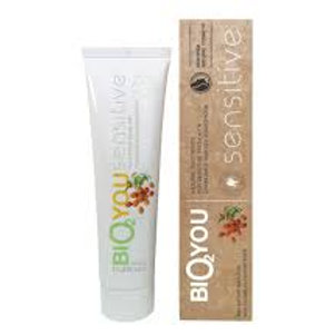 Bio2you sensitive toothpaste fluoride free