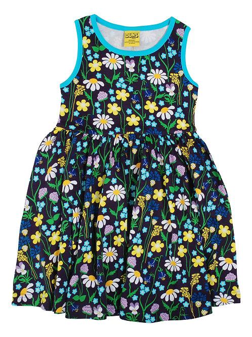 Duns Mid Summer Purple Sleeveless Gather Dress
