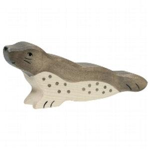 Holztiger Seal ( head forward)