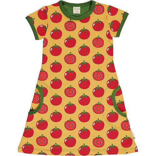 Maxomorra Tomato Short Sleeved Dress