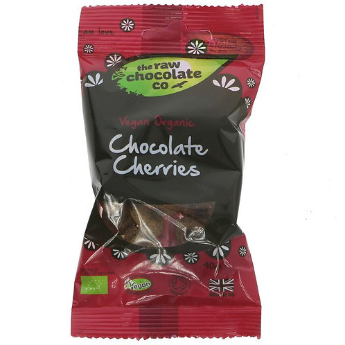 The Raw Chocolate Co Chocolate Cherries
