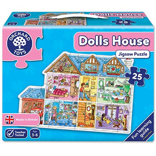 Dolls House Jigsaw Puzzle Orchard Toys