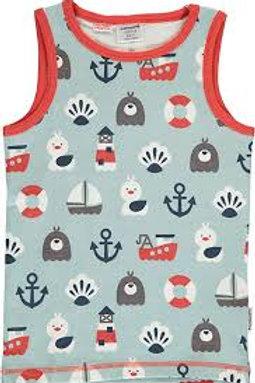 Maxomorra Blue Ocean Tanktop Vest