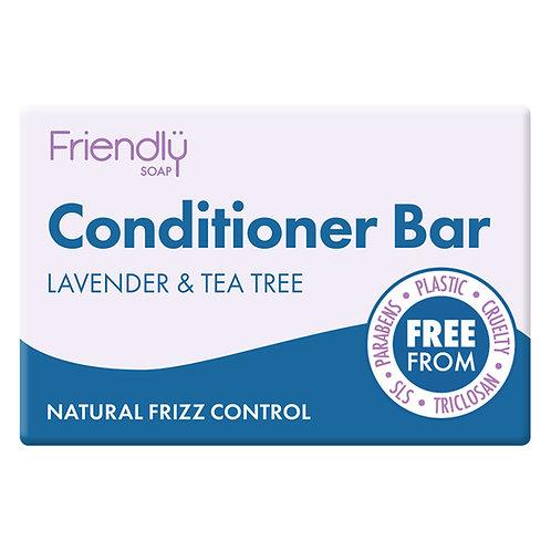 Friendly Soap Lavender & Tea Tree Conditioner Bar - 95g