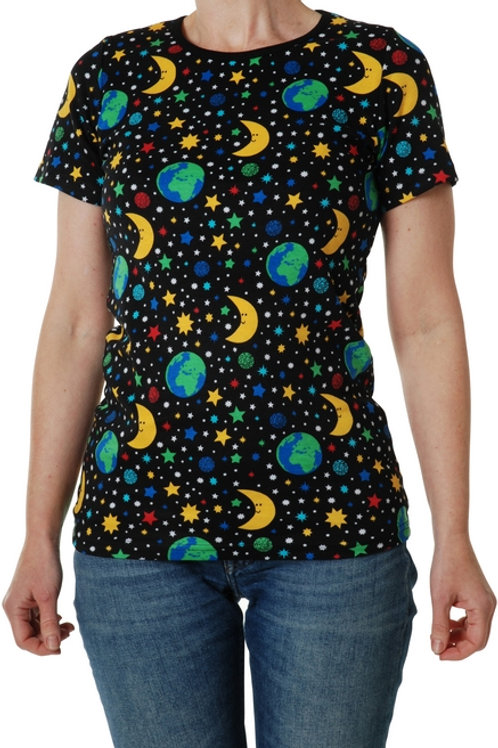 Duns Mother Earth Black Adult Short Sleeved top