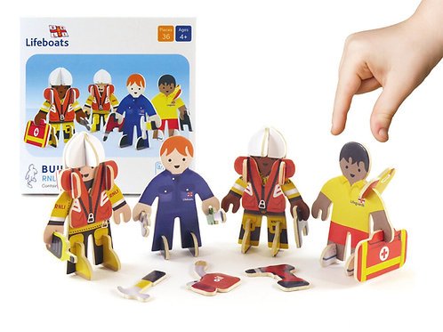 Play Press RNLI People Eco Friendly Playset