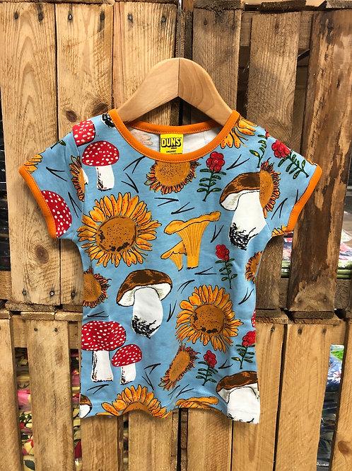 Duns Sunflower Sky Short Sleeved top