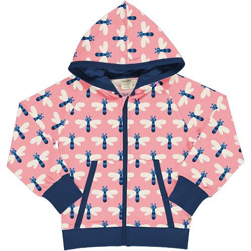 Maxomorra Dragonfly Hooded Sweat jacket/cardigan