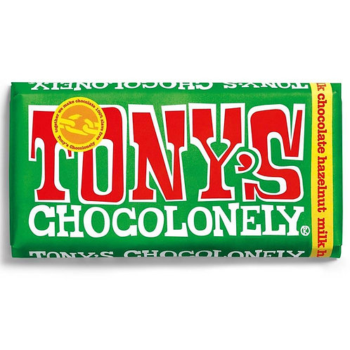 Tonys Chocoloney : Milk Chocolate and Hazelnut