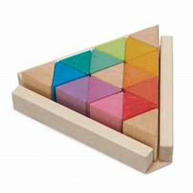 Ocamora Triangle Rainbow Buildning blocks