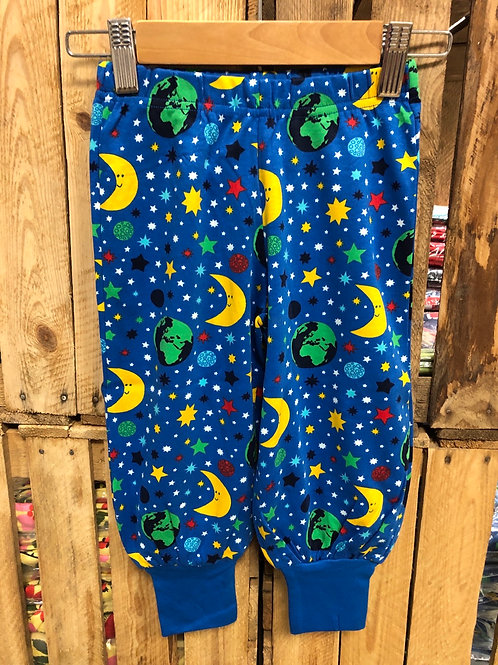 Duns Mother Earth Blue Baggy Pants