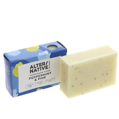 Alter/native Boxed Soap Peppermint & Pine Oil - 95g